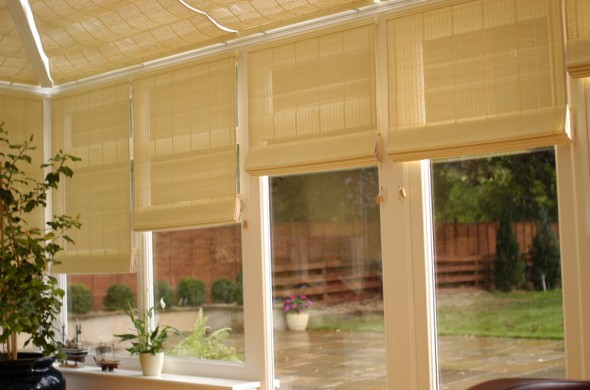 Fitted Pinoleum Side Blinds