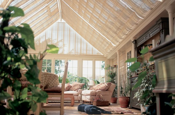 conservatory-blinds-pleated