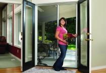retractable insect door screens