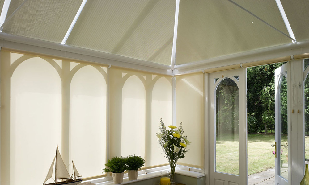 Solar R® Conservatory Blinds - Appeal Home Shading