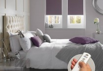 Banlight Mulberry Bedroom Roller with Control Inset