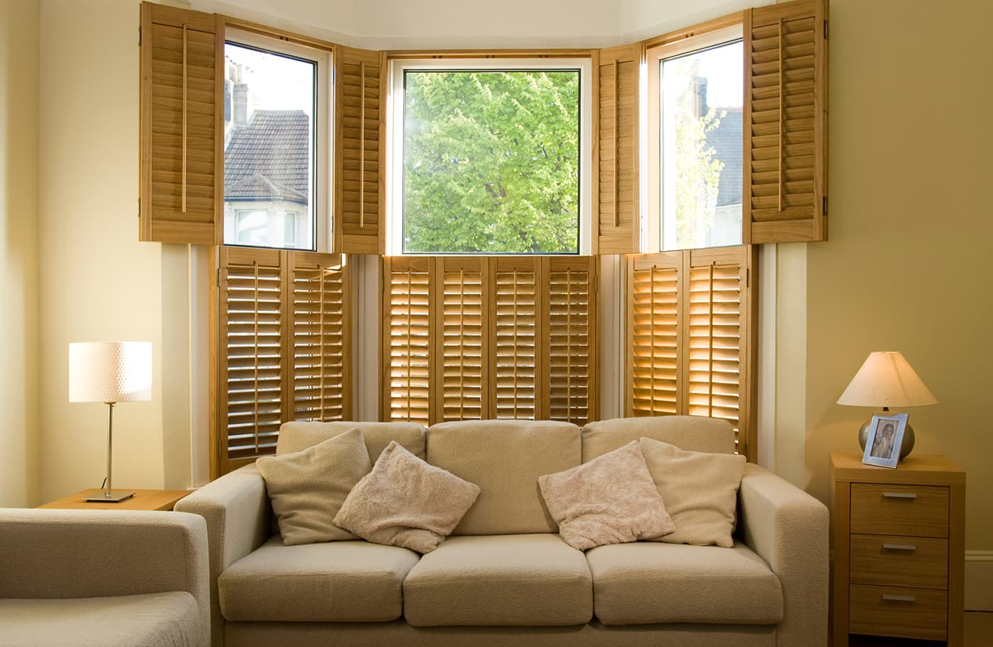 Brown french shutters jpg