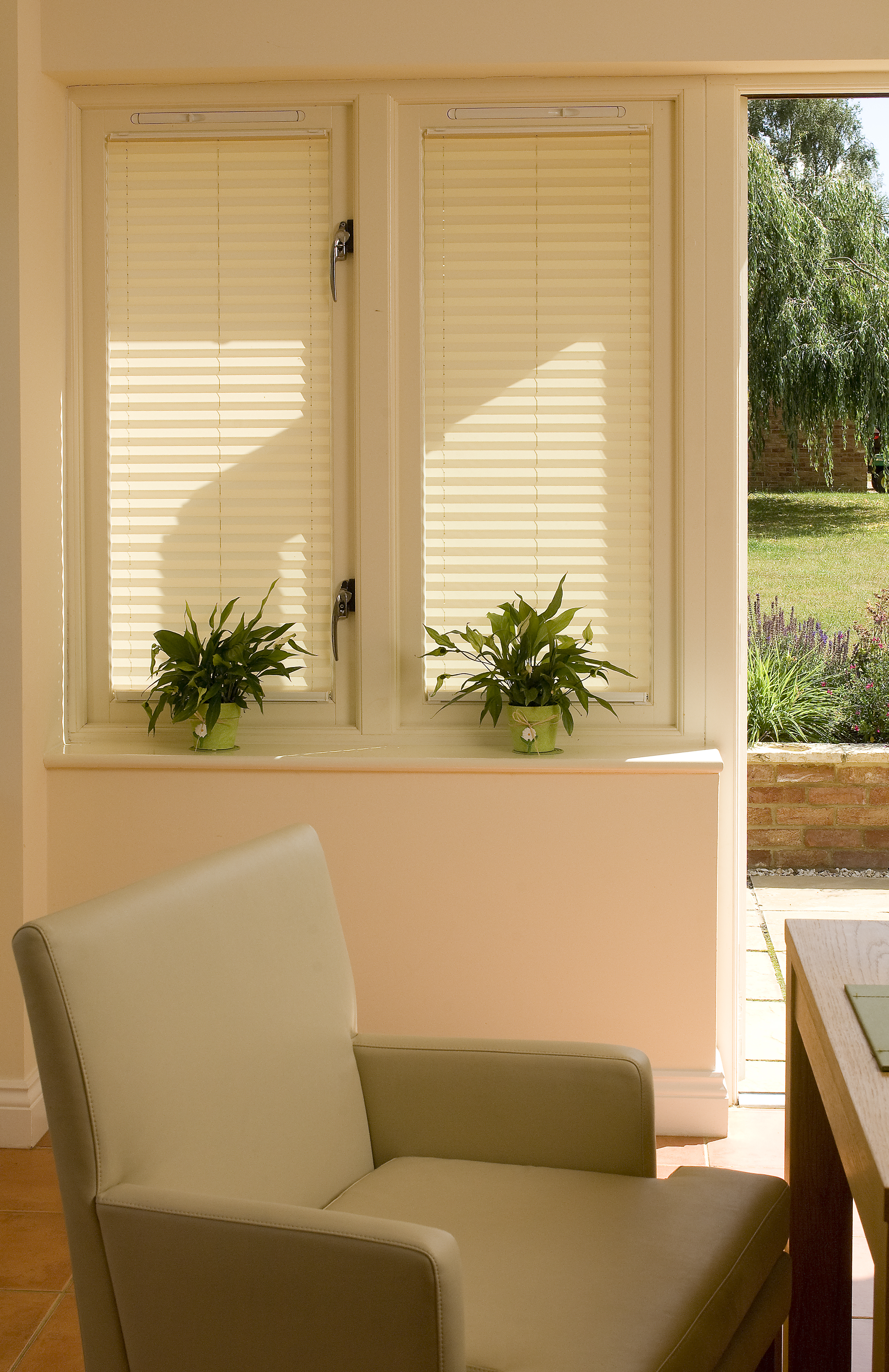 Pleated Conservatory Blinds Appeal Home Shading
