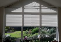 Clearview Gable End Blinds With Ultra One Touch Control