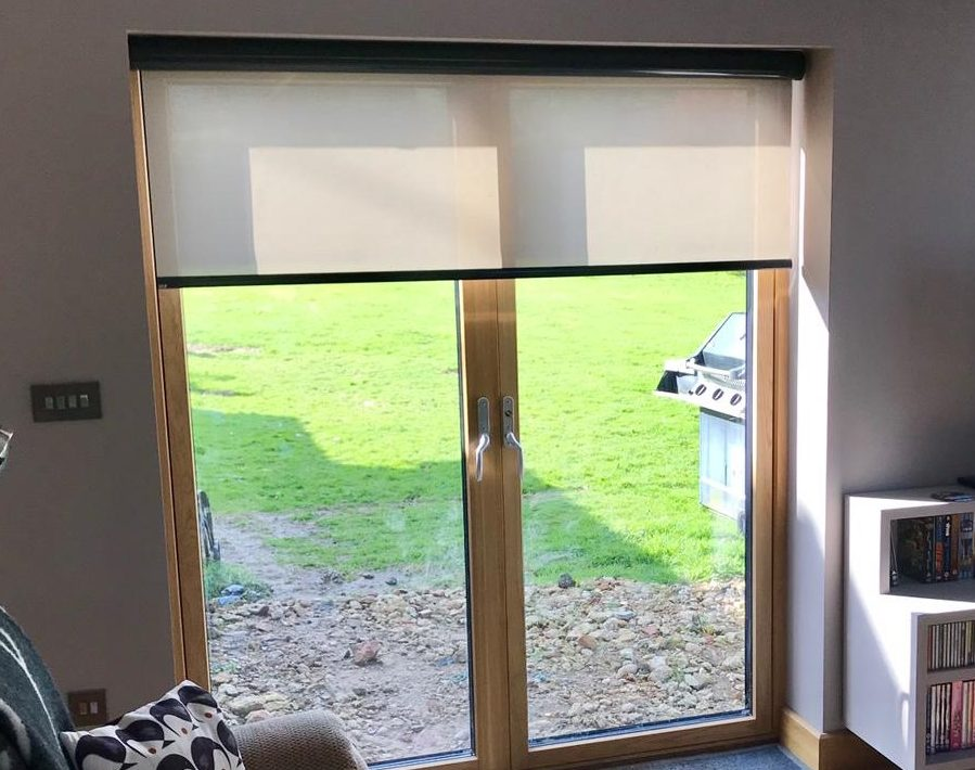 Roller Window Blinds With Ultra One Touch Control Appeal Home Shading