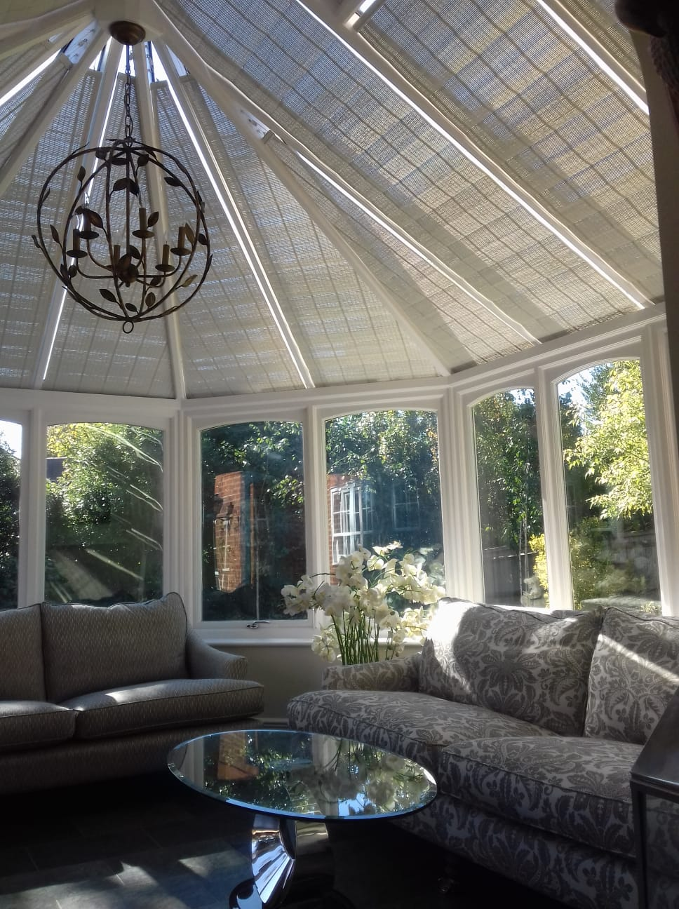 Original French Pinoleum Blinds Appeal Home Shading