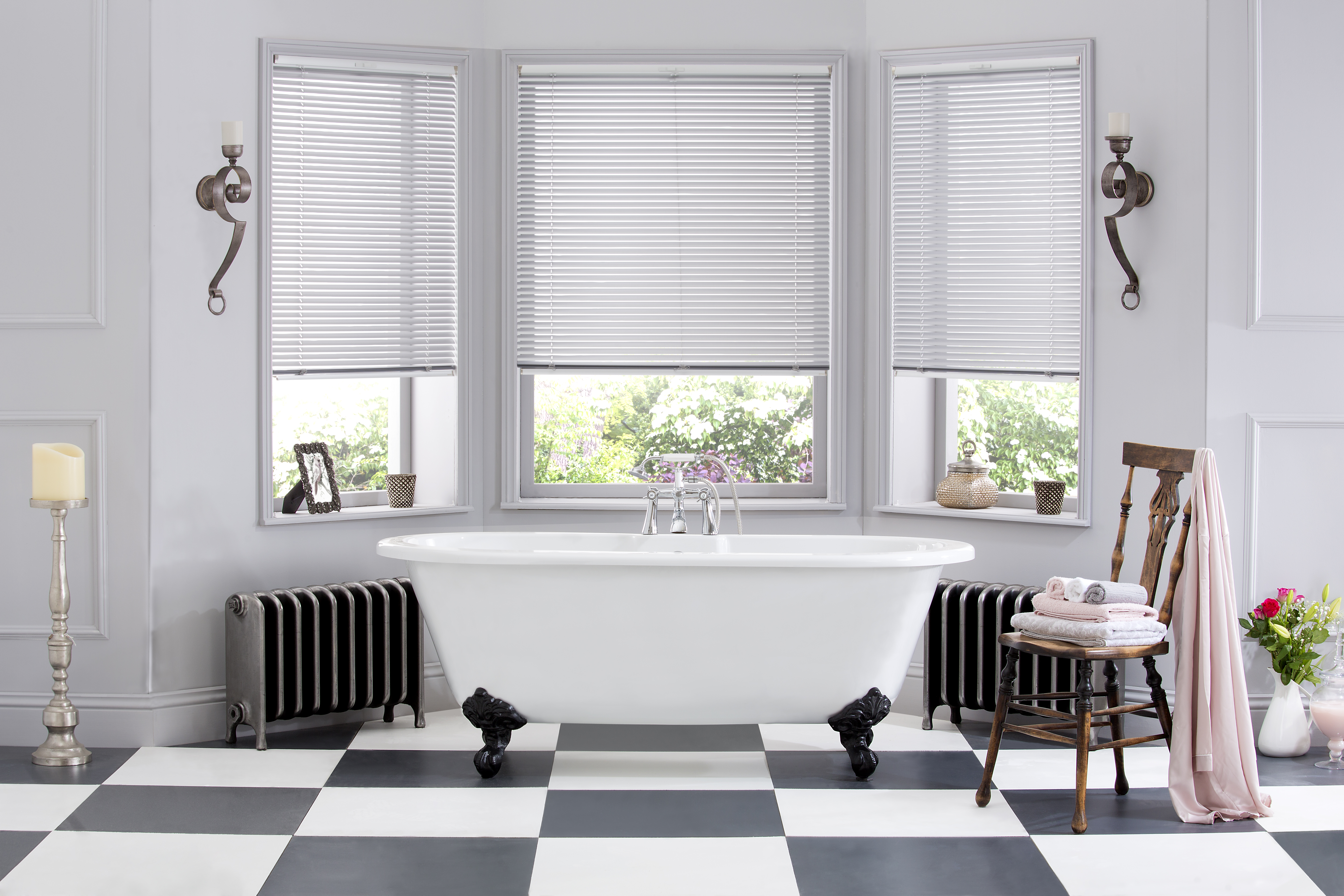 Aluminium Venetian Window Blinds with ULTRA one-touch ...