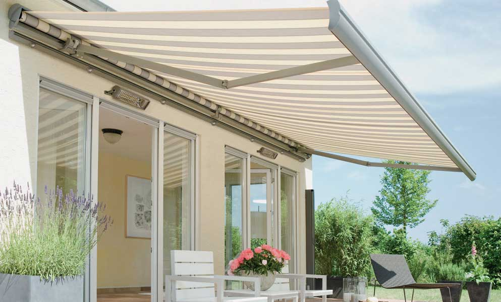 are electric patio awnings waterproof