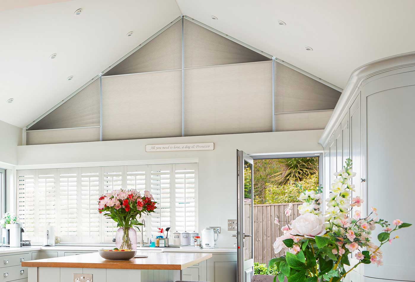 gable end conservatory blinds