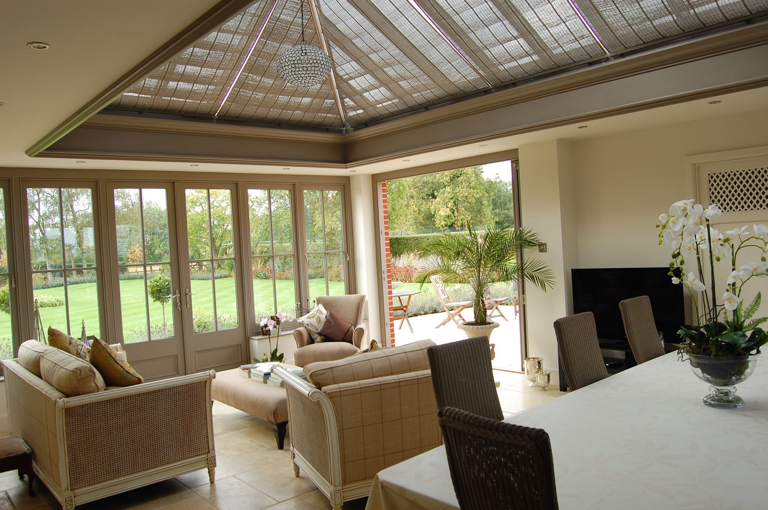 french blinds for conservatories