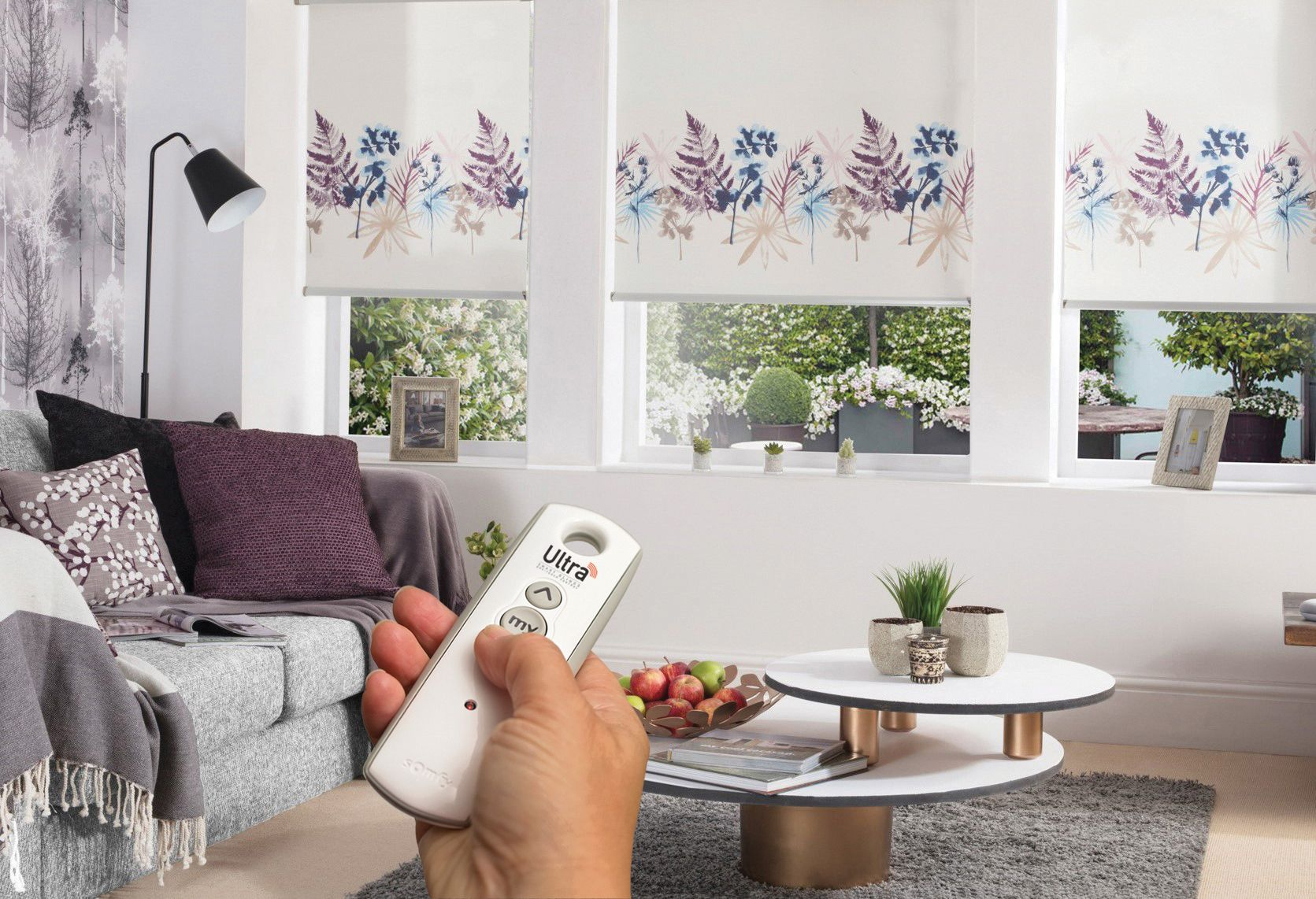 voice activated blinds