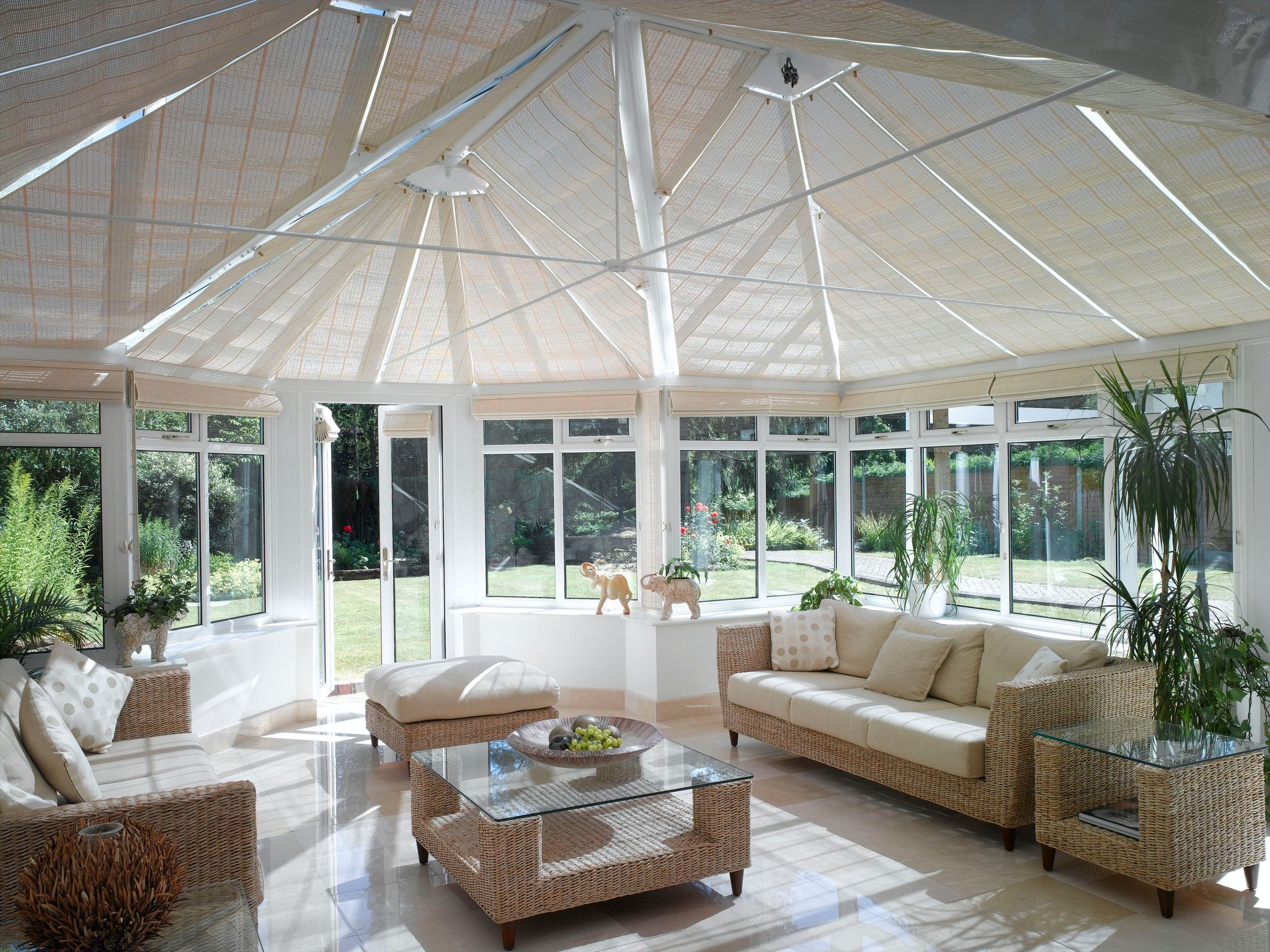 French pinoleum conservatory blinds