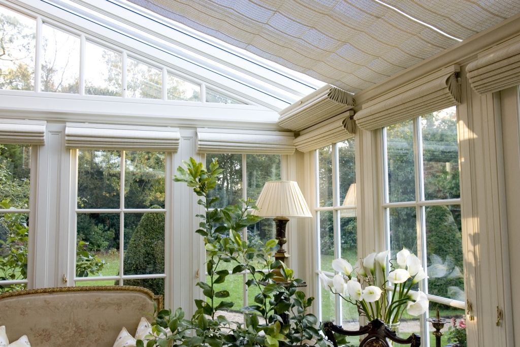 french pinoleum conservatory ceiling blinds