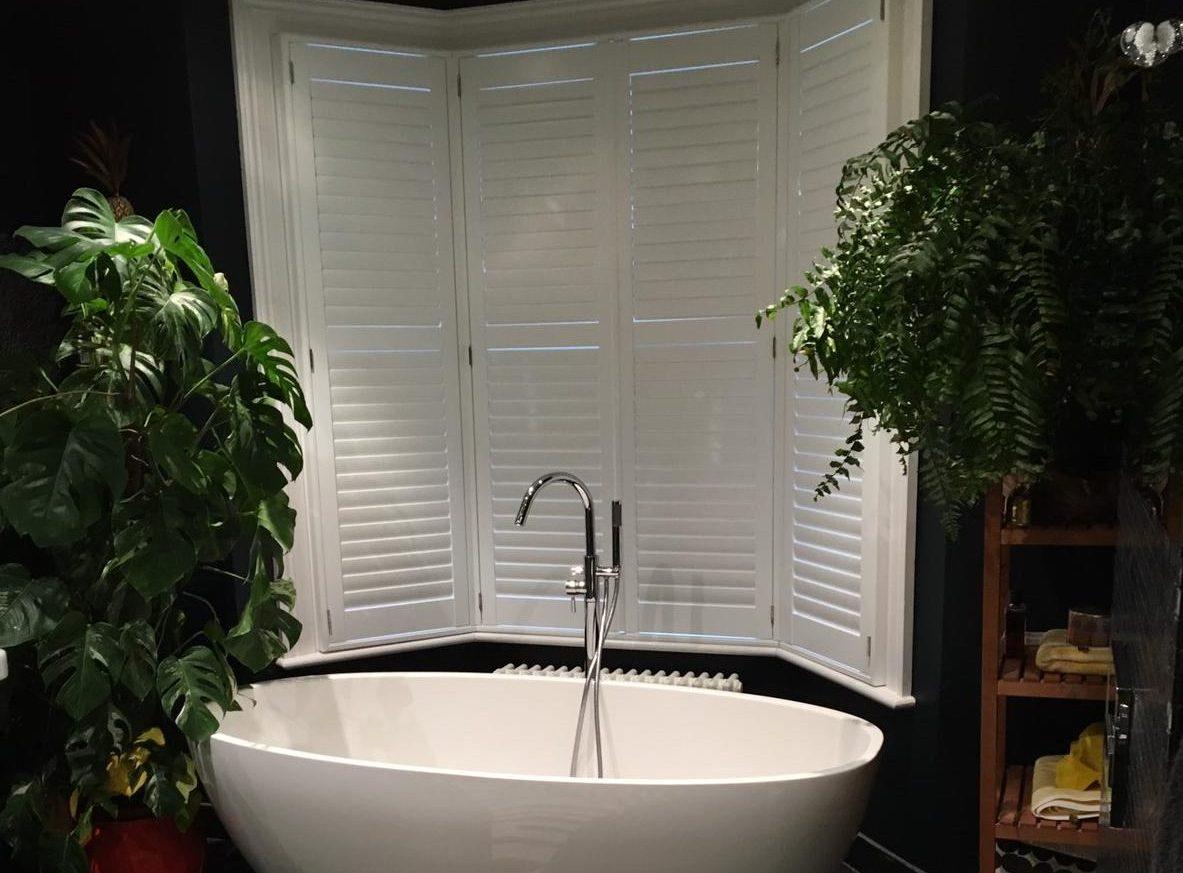 bespoke bathroom shutters UK