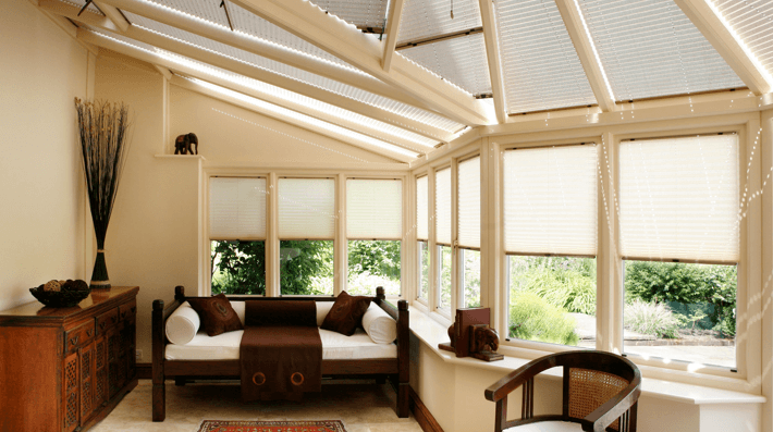 conservatory roof blinds UK