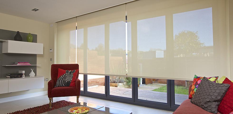 bi fold door blinds