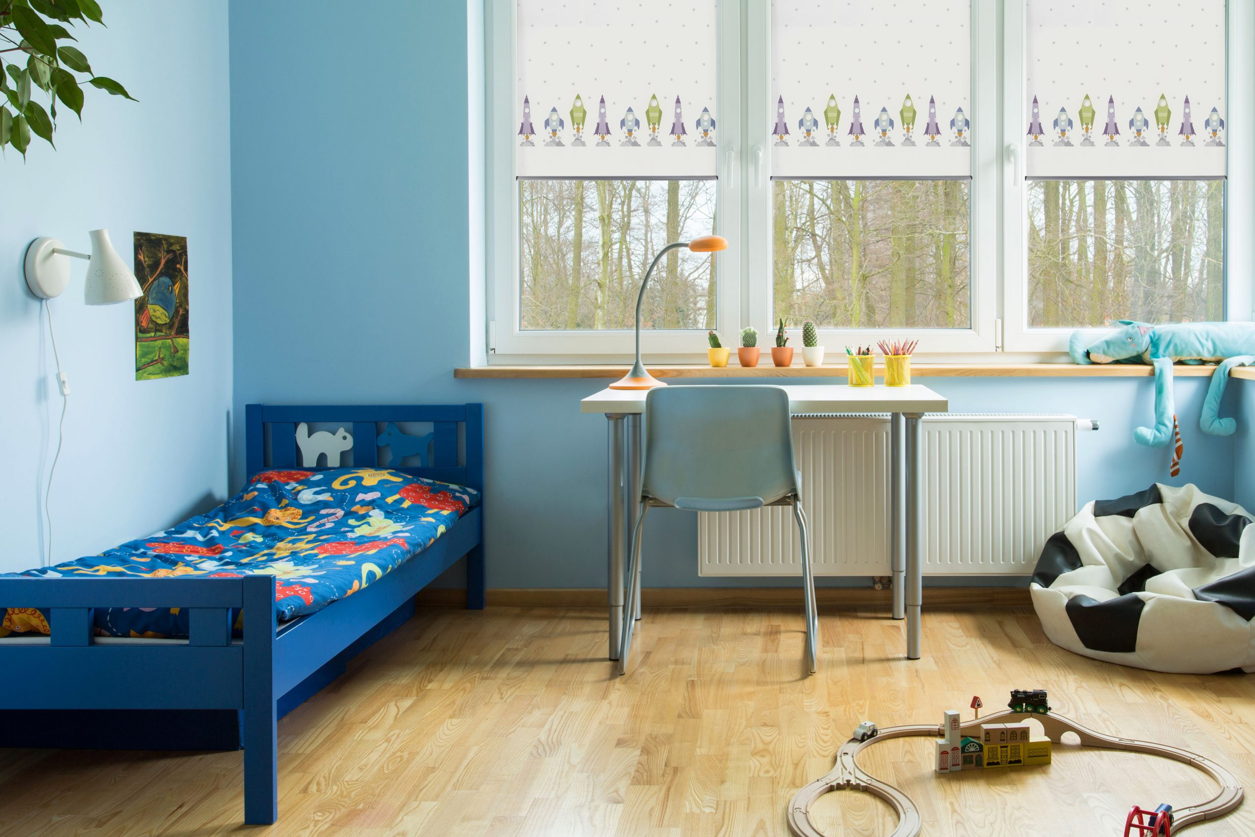 Blinds for childrens bedrooms