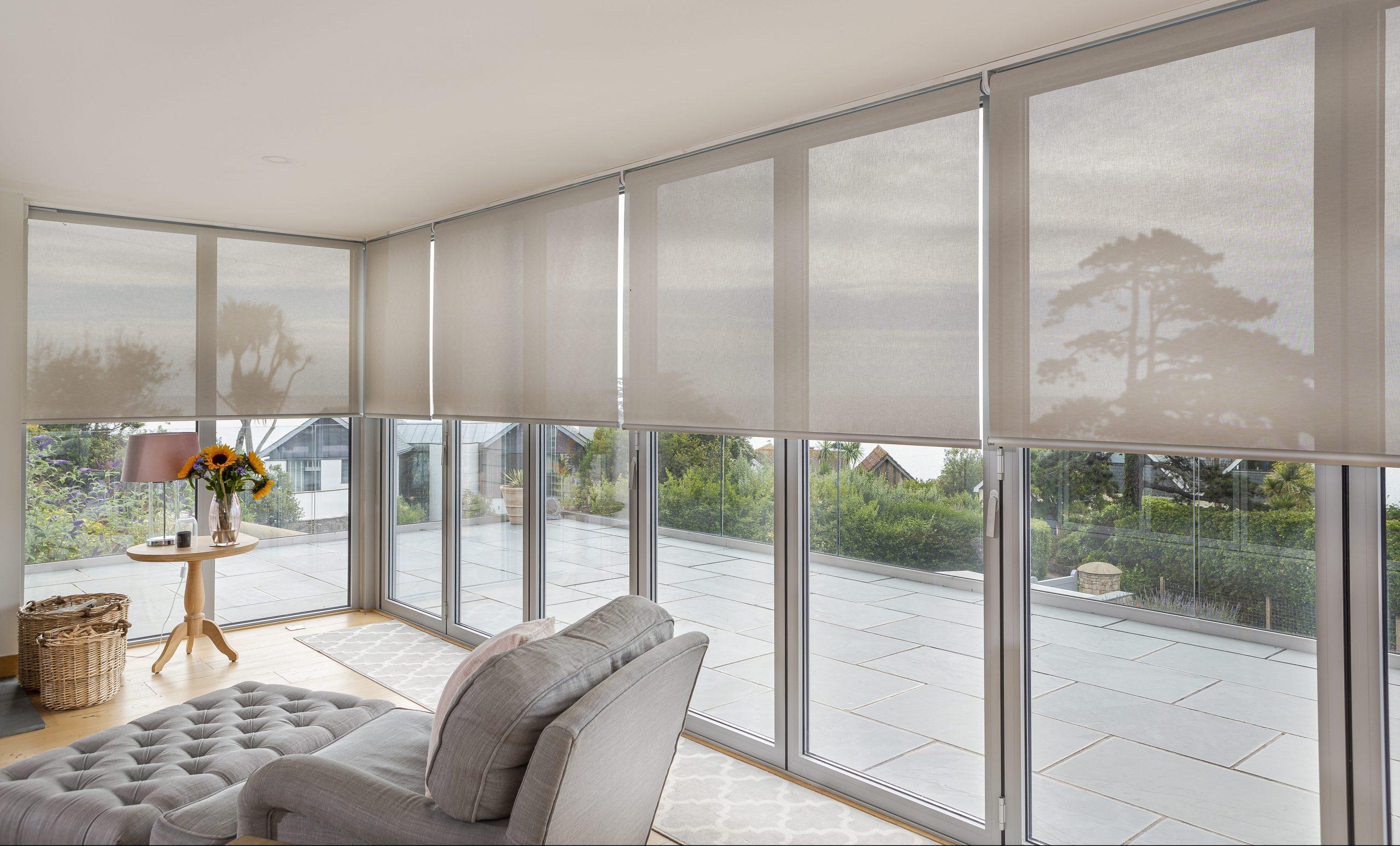 bifold doors blinds