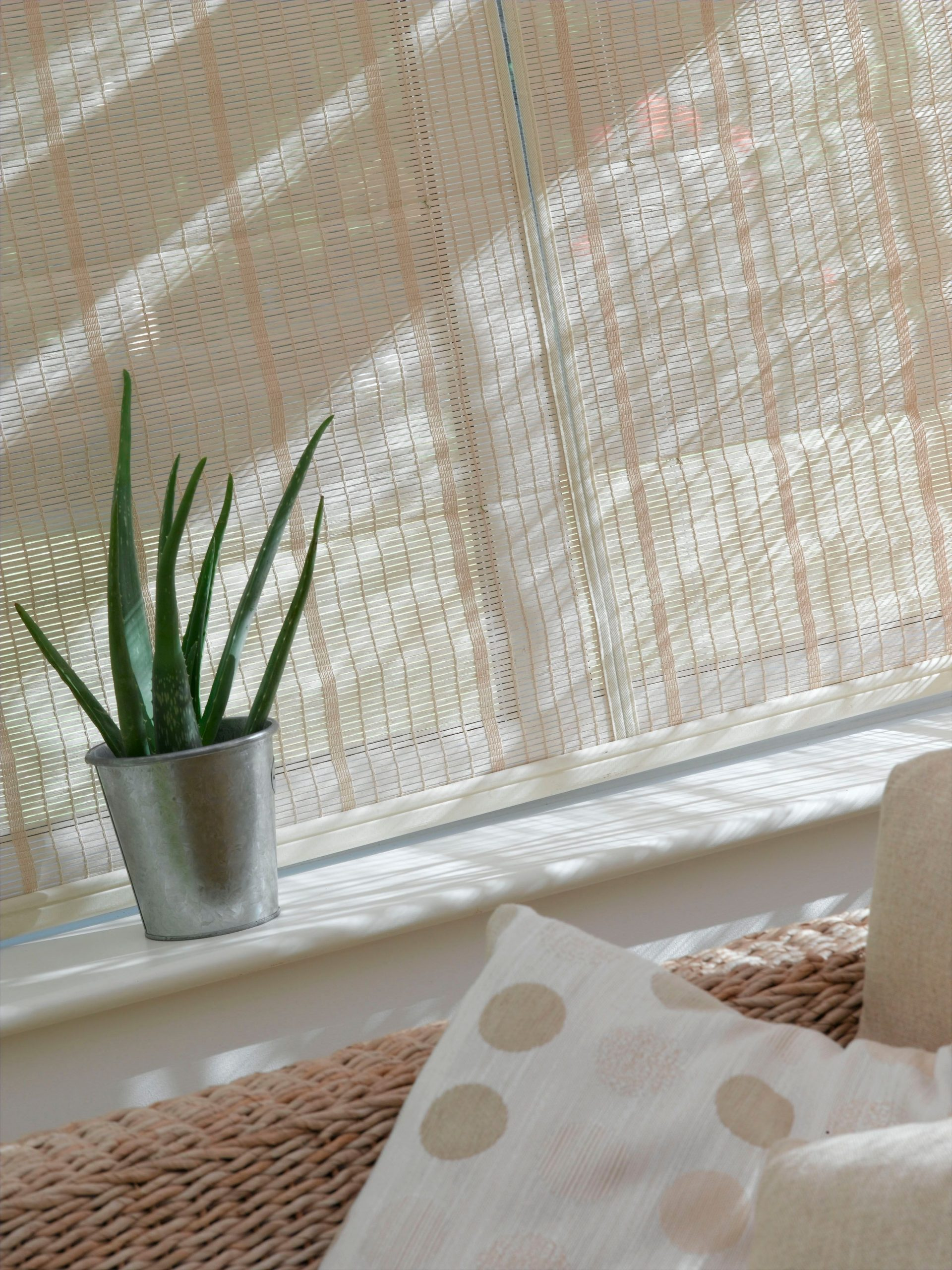 weaved conservatory blinds