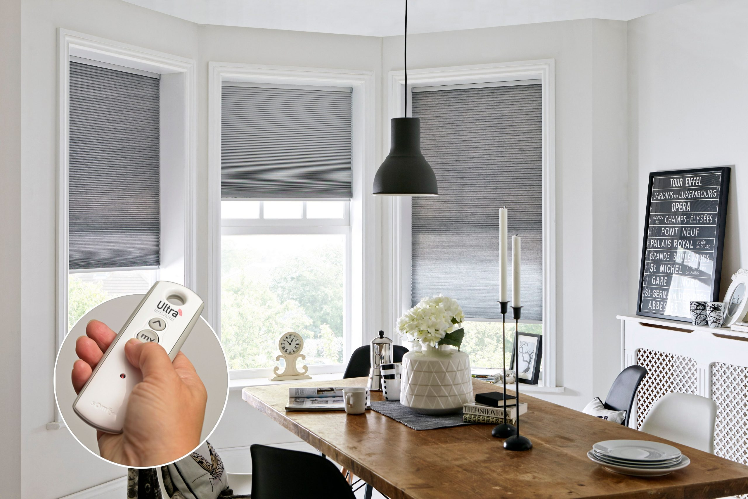 Powerdrive blinds for windows