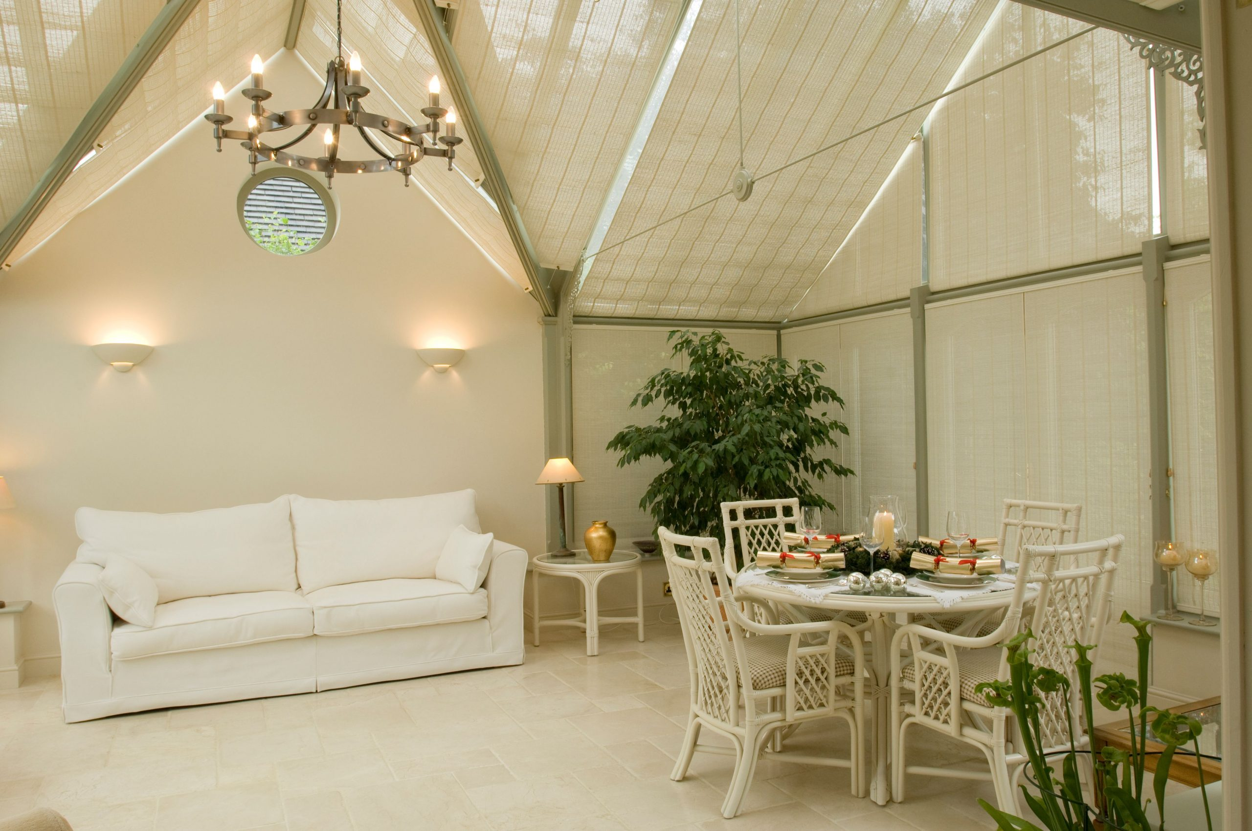 conservatory roof blinds wales
