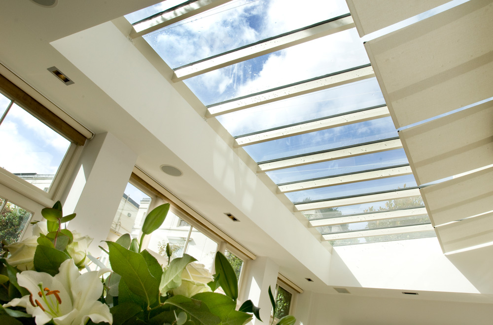 solar r blinds for conservatory ceilings