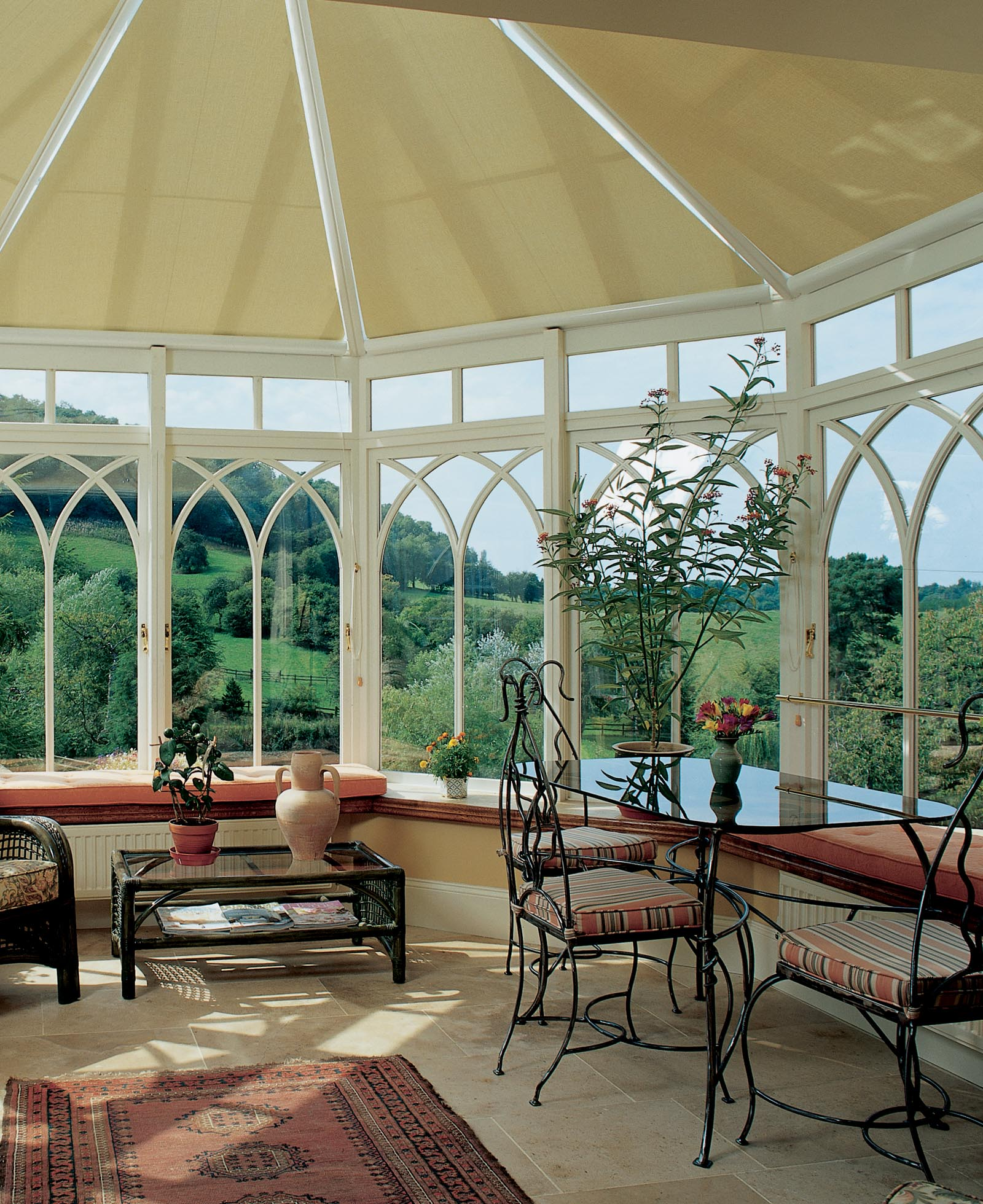 roller blinds for conservatory roofs