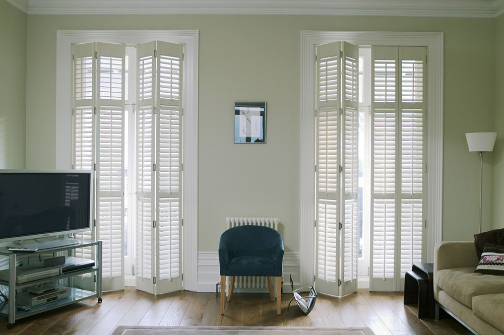 Full Height Wooden plantation Shutters