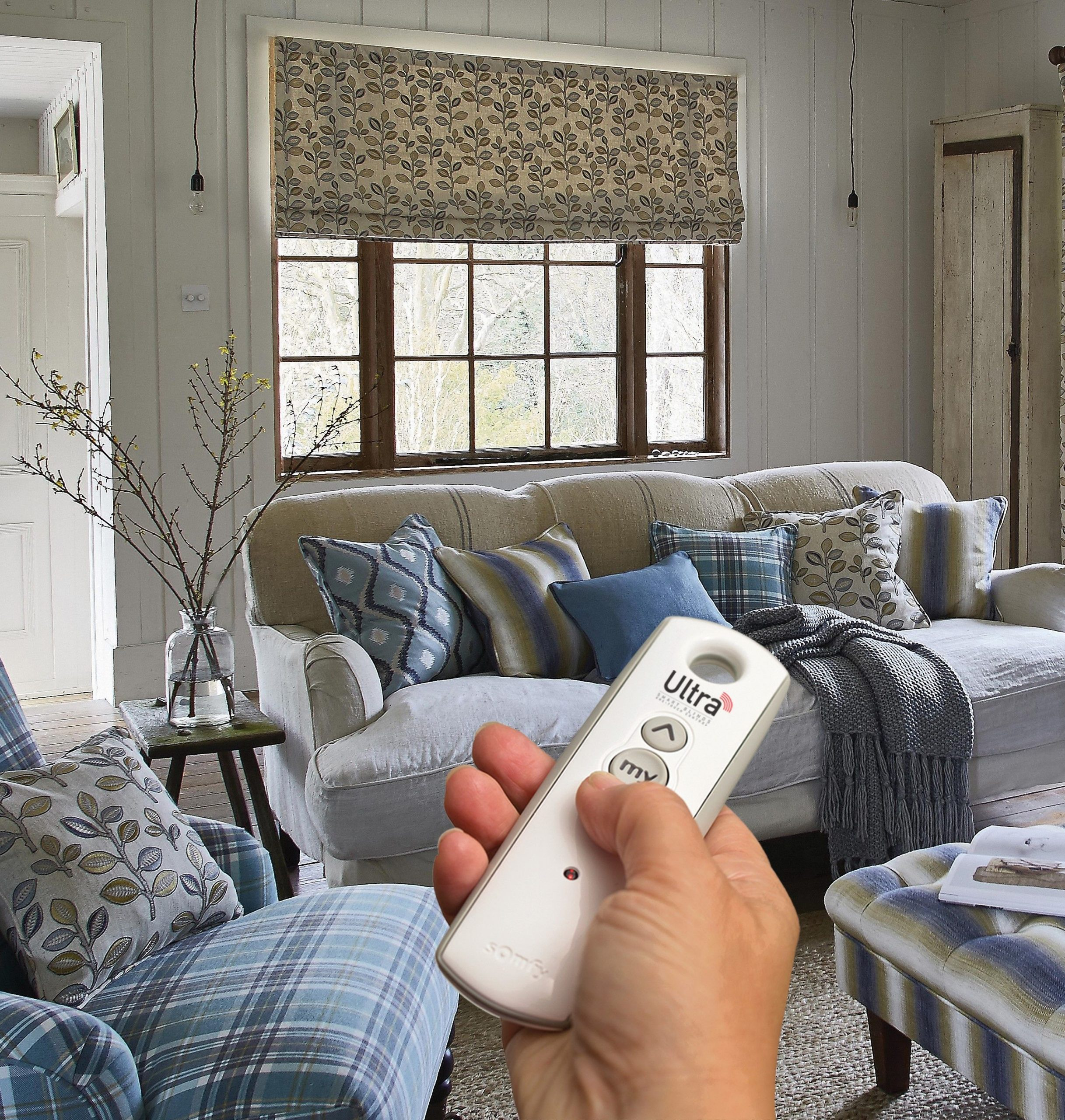 remote control roman blinds