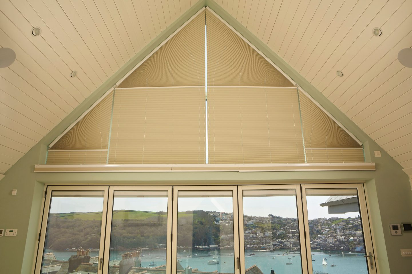 made to measure gable window blinds