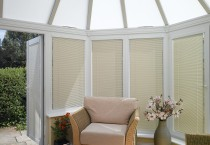 Venetian conservatory side blinds