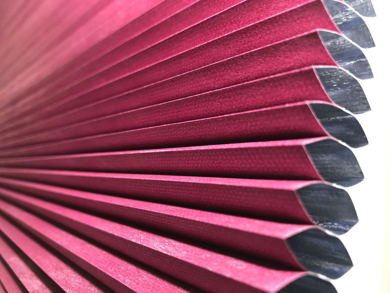 coloured honeycomb blinds UK