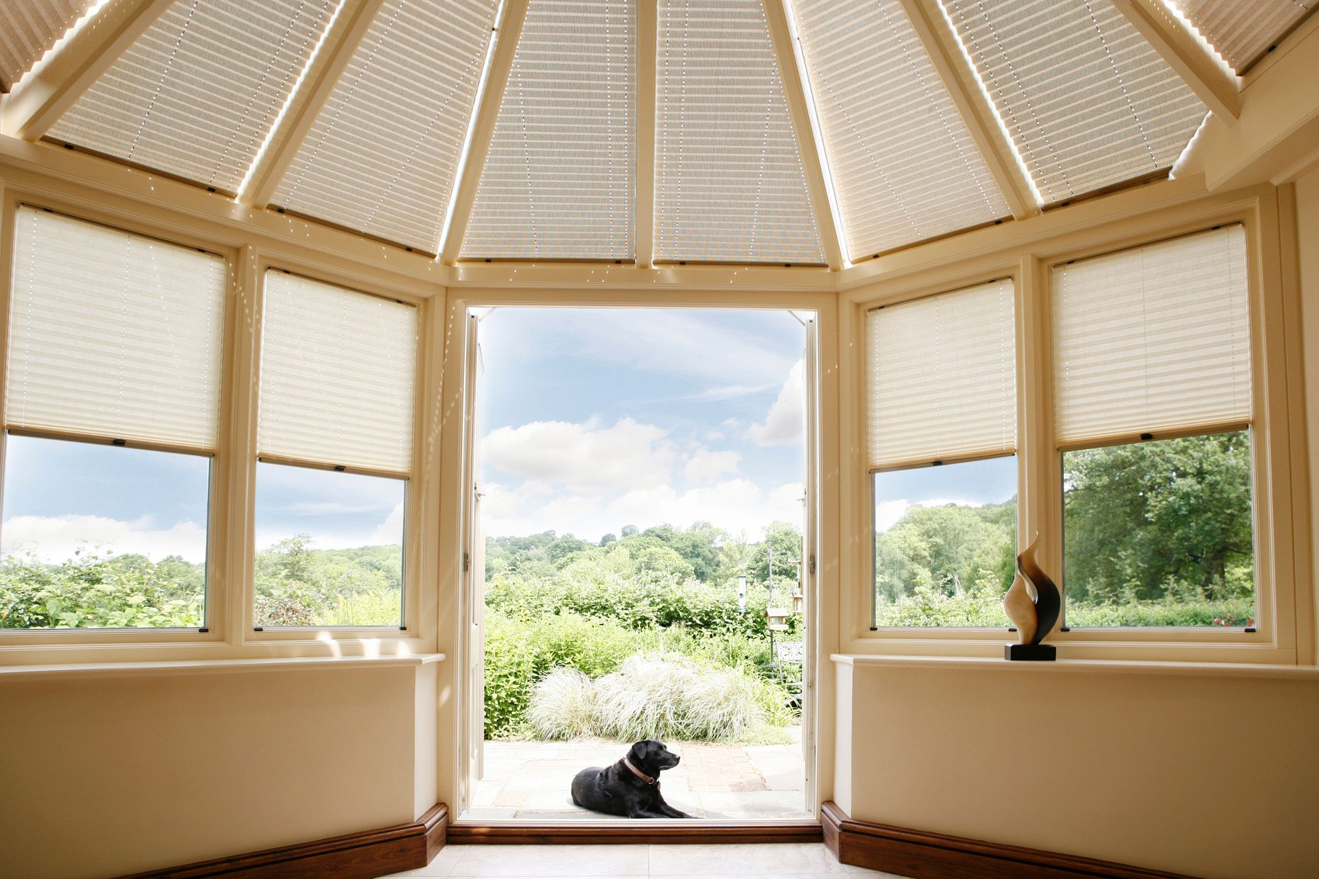 pleated conservatory roof blinds quotes
