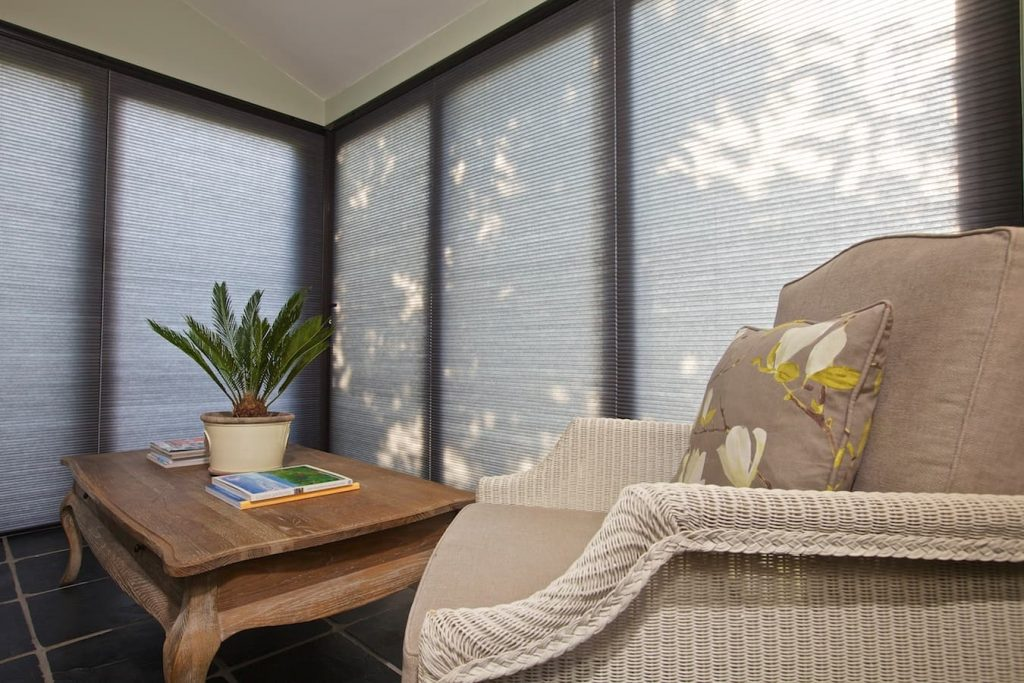 conservatory curtains or blinds