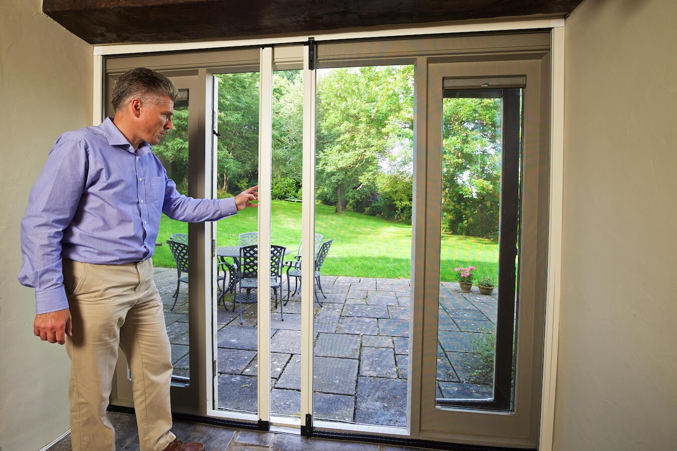 door insect screens UK